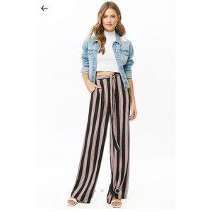 NWOT striped palazzo pants